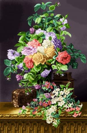 نام طرح :گل نخ ونقشه-کد 398-D