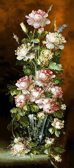 نام طرح : گل و گلدان كد 121-D
